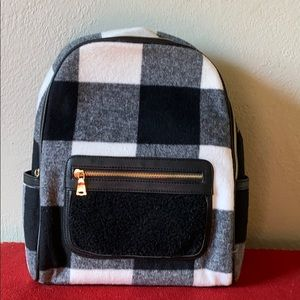 Adam Lippes for Target Buffalo Check Backpack